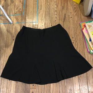 EUC Jones NY Black Flared Skirt